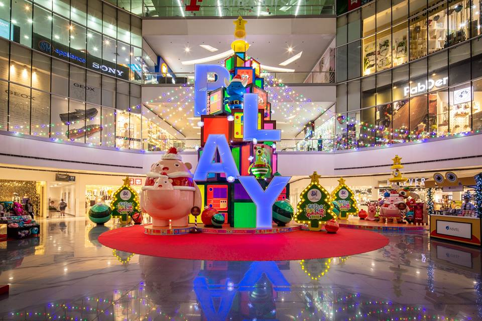 Experience A Glitter Critter Christmas At SM City North EDSA