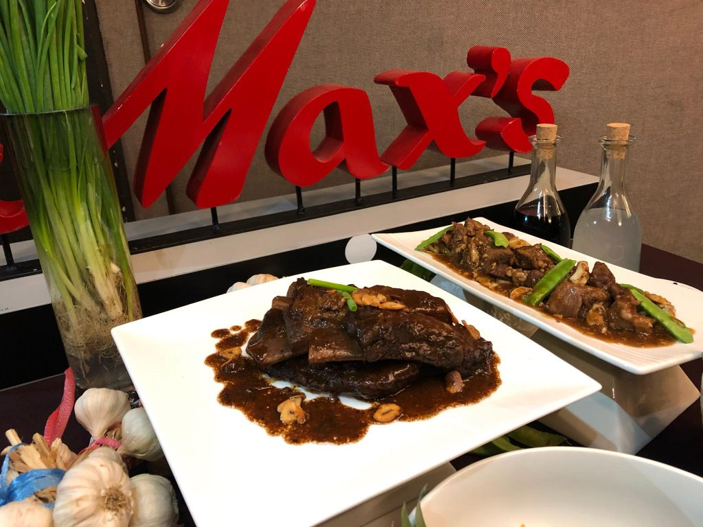 Celebrate Every Day To The Max With The New Adobo Ribs And Beef Salpicao At Max's