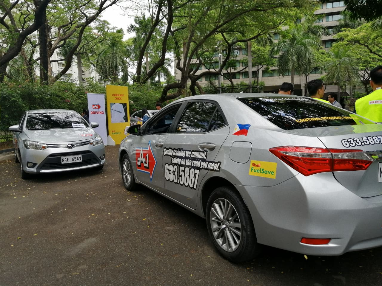 Shell Pilipinas partnered with A1 Driving School