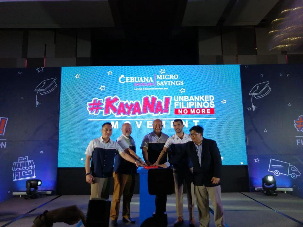 Cebuana Lhuillier Micro Savings Launch