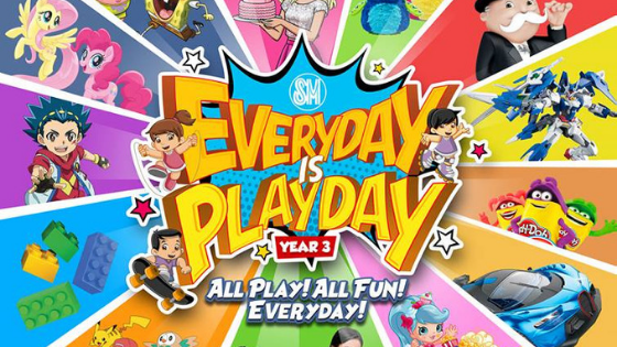 SM Supermalls Everyday Is Playday Now On Its 3rd Year