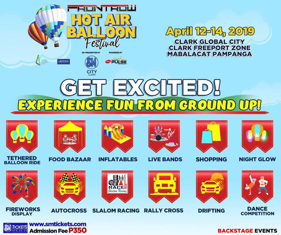 Frontrow International Hot Air Balloon Festival - activities