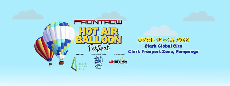 Frontrow International Hot Air Balloon Festival - banner
