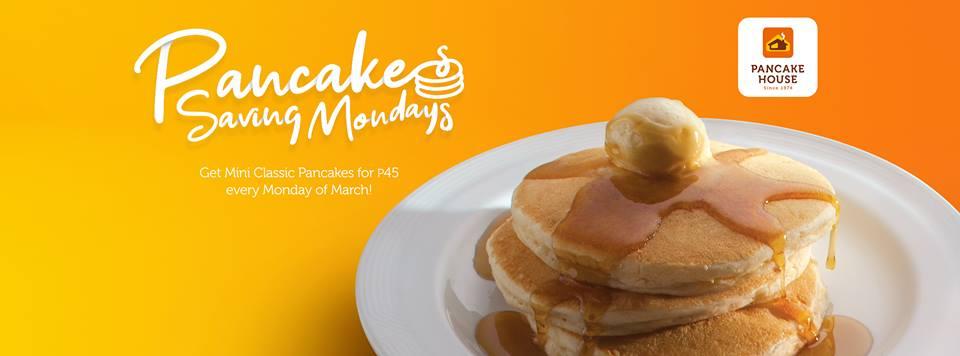 Pancake House: Pancake Saving Mondays