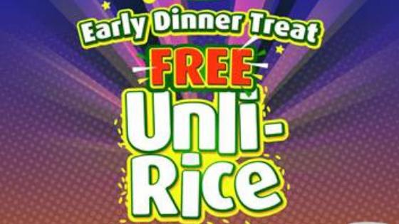 Mang Inasal Unli Rice