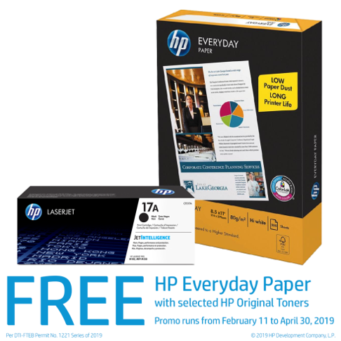 HP Everyday Paper promo