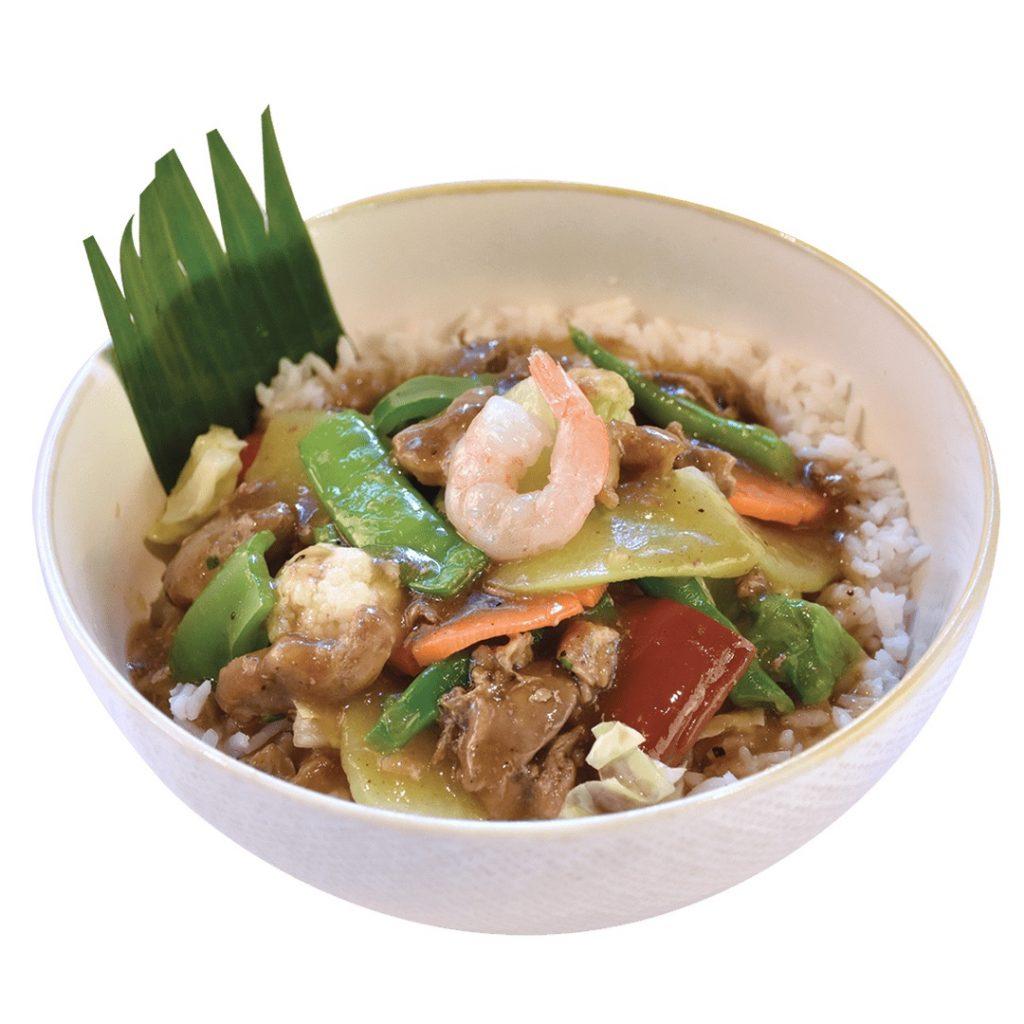 Max's Chopsuey Rice Bowl