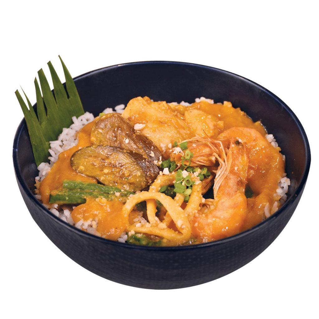 Max's Seafood Kare Kare Rice Bowl