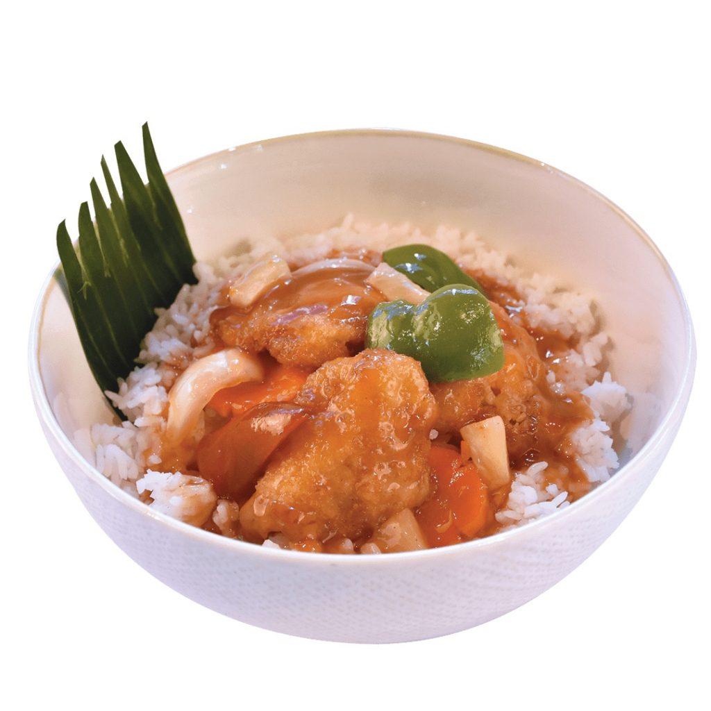Max's Sweet & Sour Fish Fillet Rice Bowl