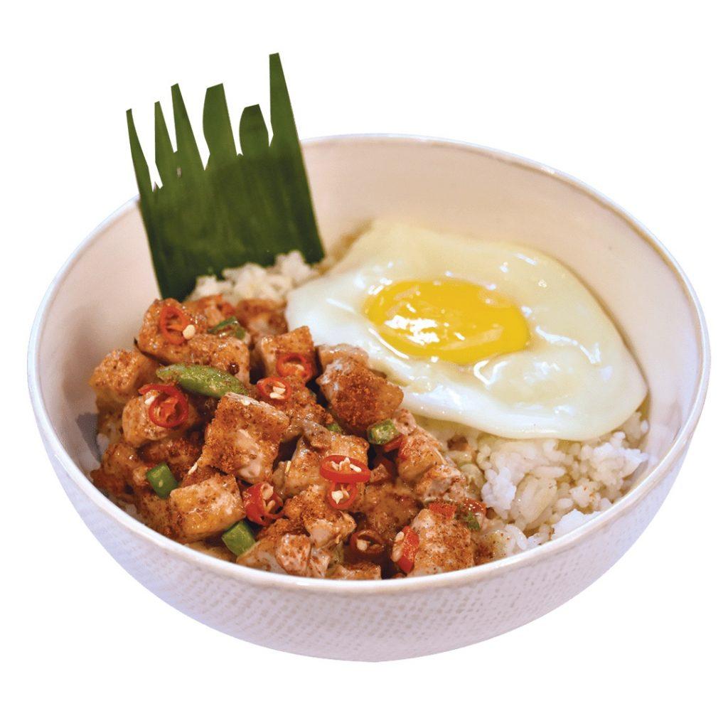 Max's Tofu Rice Bowl