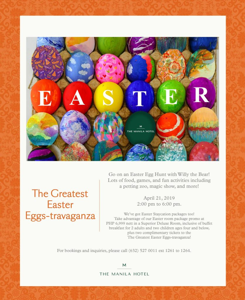 The Greatest Easter Eggs-travaganza