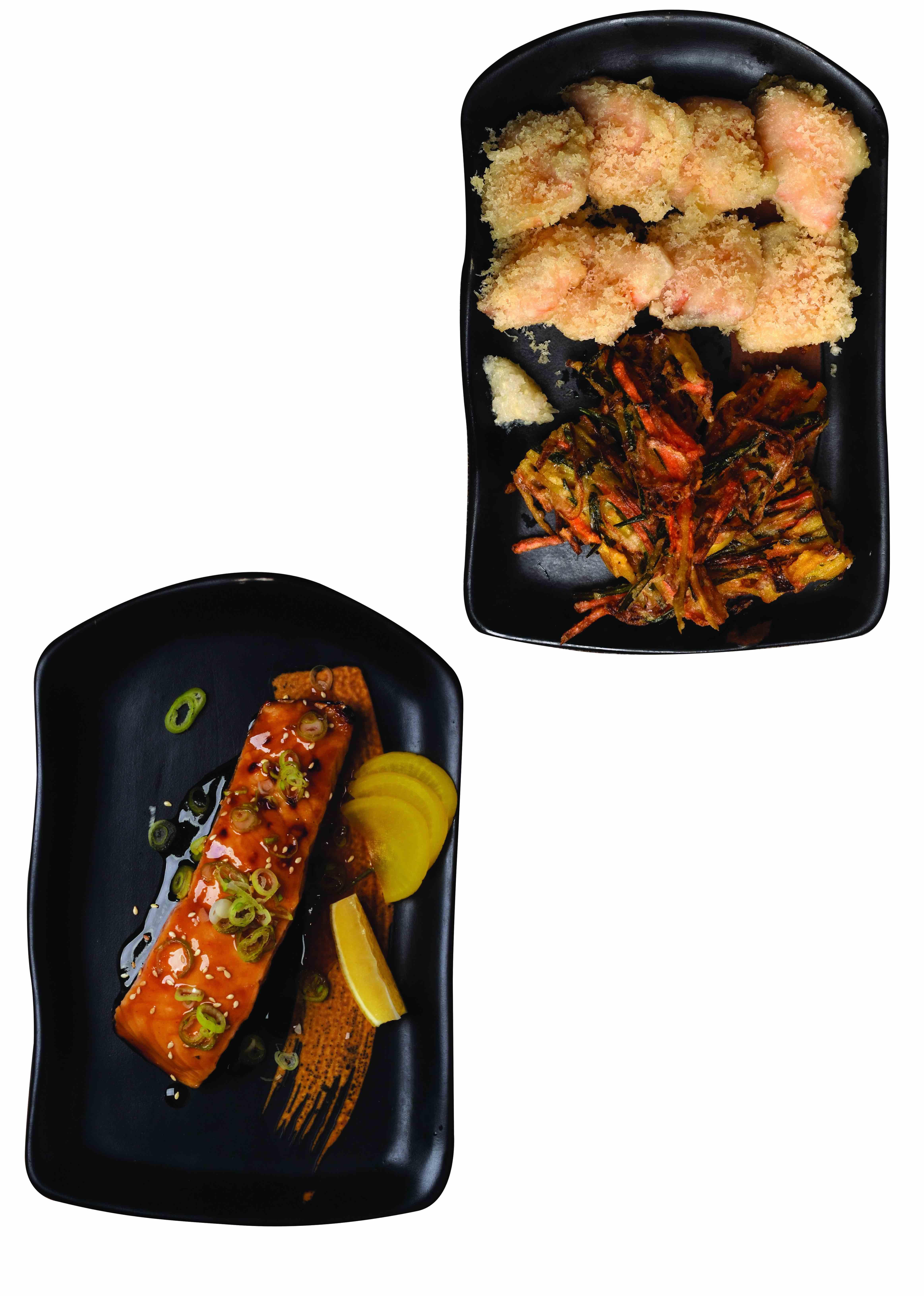 Salmon at Teriyaki Boy