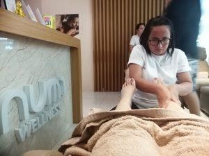 Foot Massage in Numi Wellness