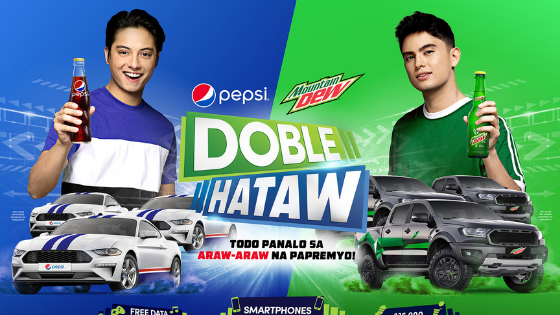 Doble Hataw James Reid and Daniel Padilla