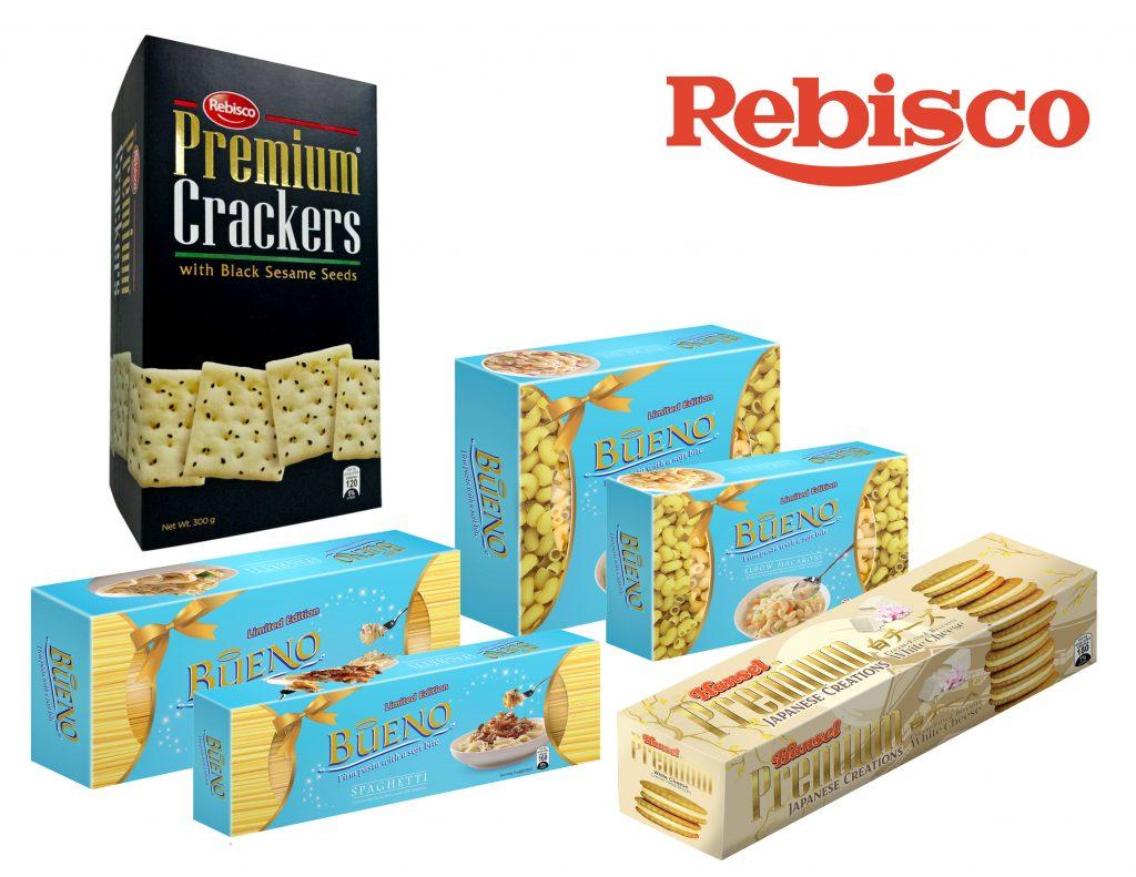 Rebisco Crackers & Bueno Pasta