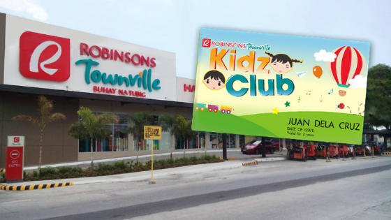 Robinsons Townville Introduced The Robinsons Kidz Club