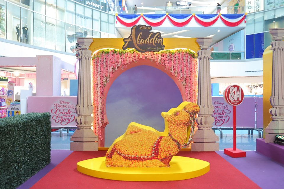 Aladdin Installations at SM North EDSA The Block