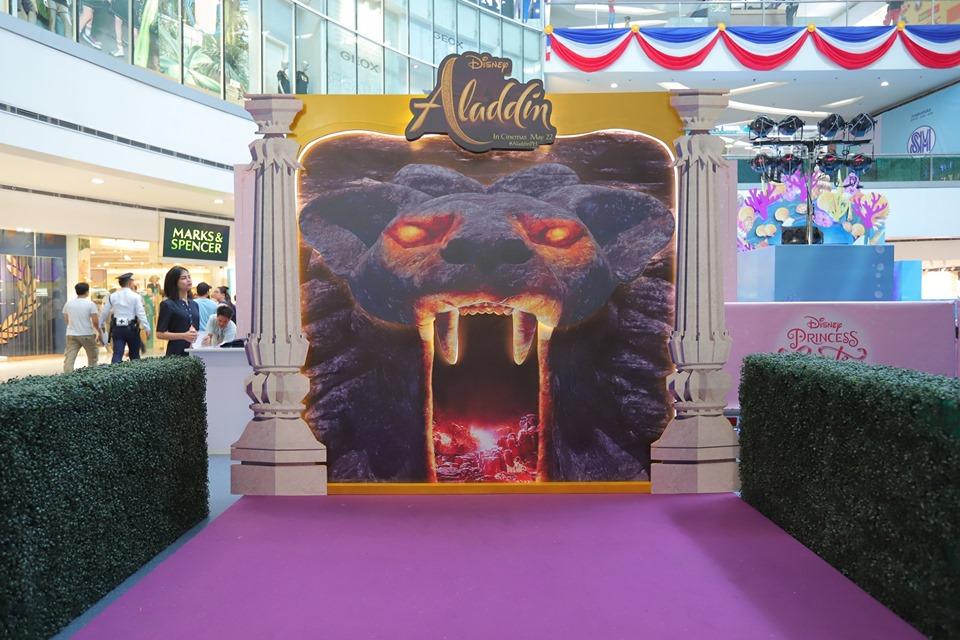 Aladdin Installations at SM North EDSA The Block