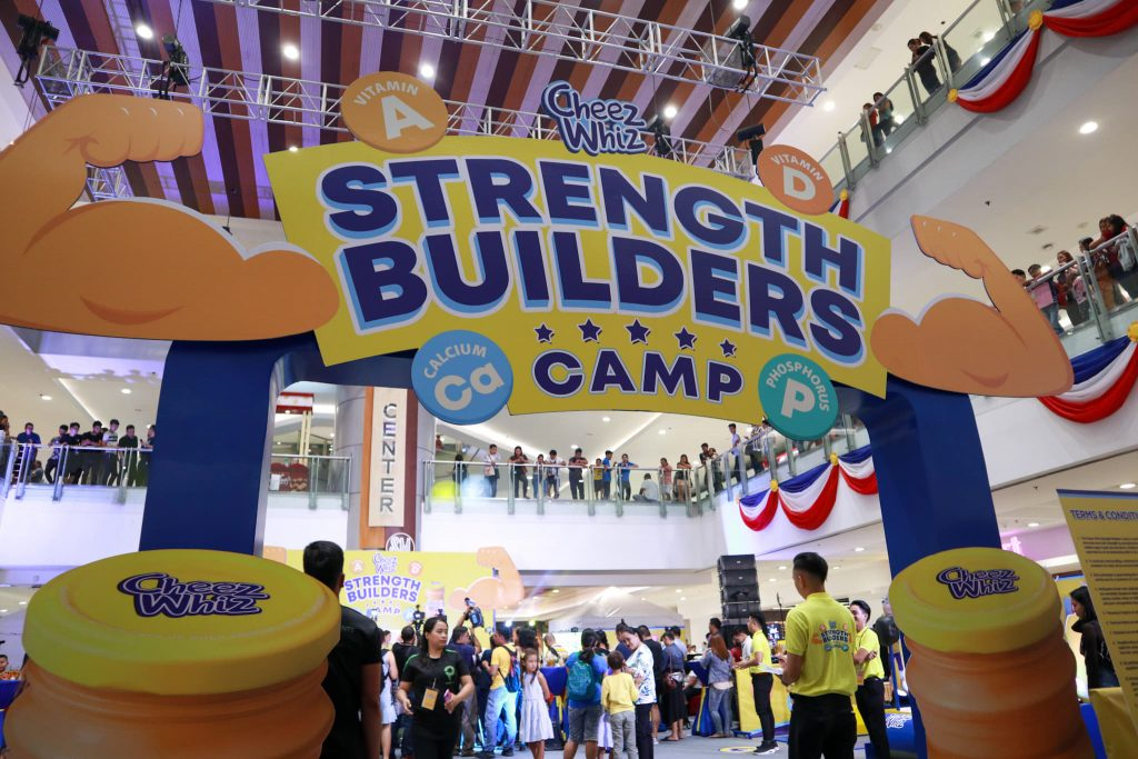 Cheez Whiz Strength Builders Camp