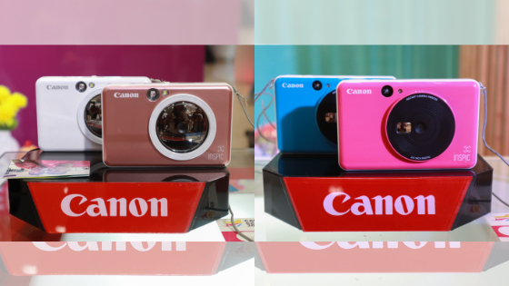 Snap, Print, And Stick With The New Canon iNSPiC Cameras