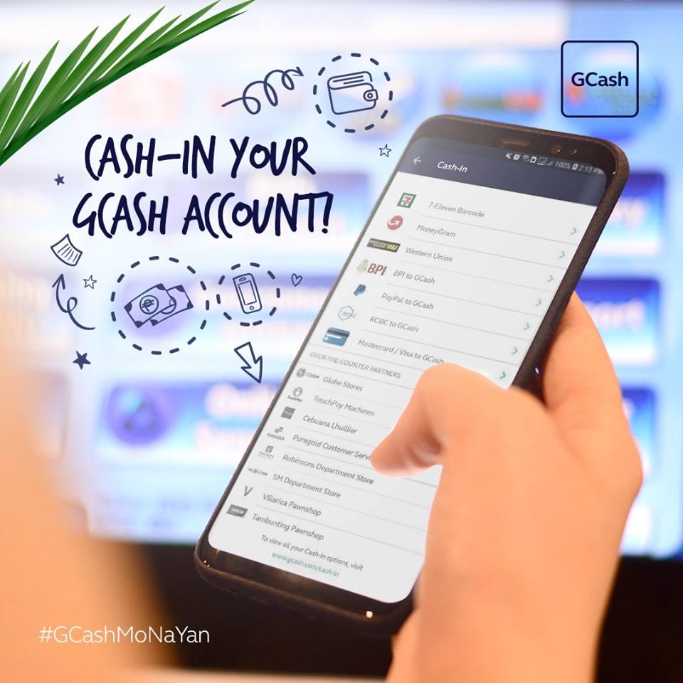 Gcash Cash In