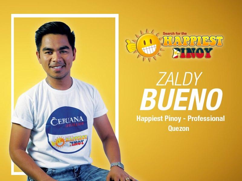 Happiest Pinoy Zaldy Bueno