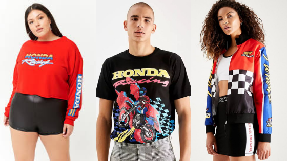 Honda and Forever 21 Join Up for Throwback Apparel Line