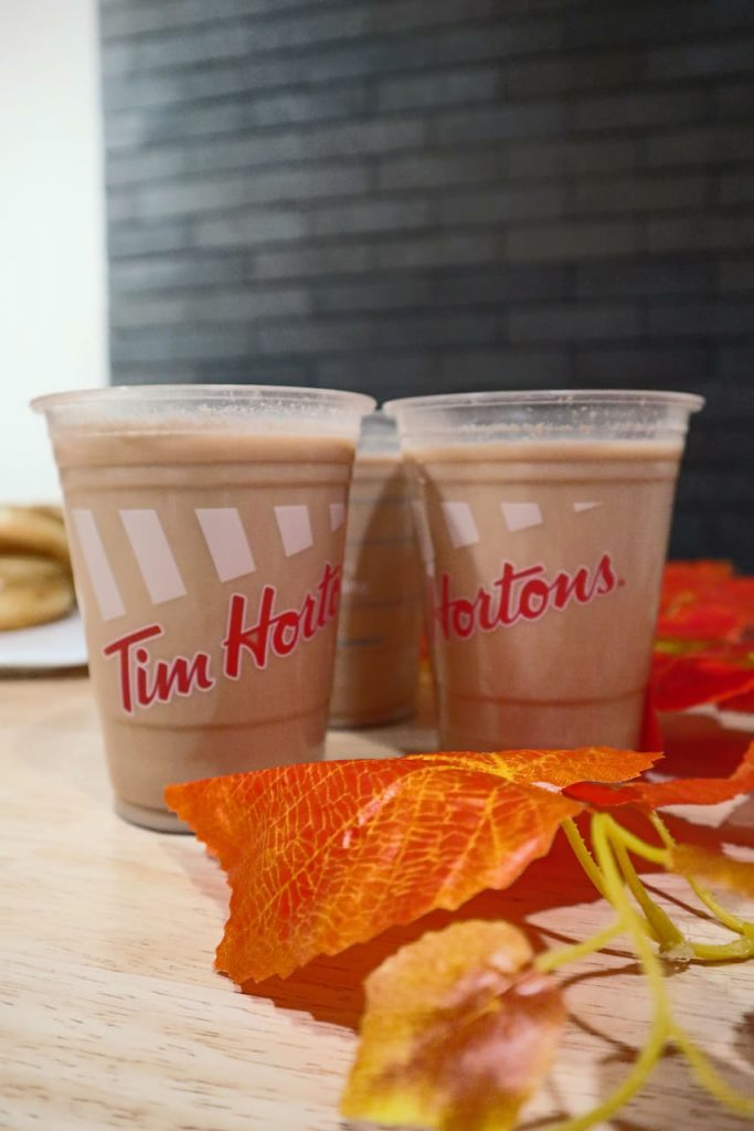 Iced French Vanilla - Tim Hortons