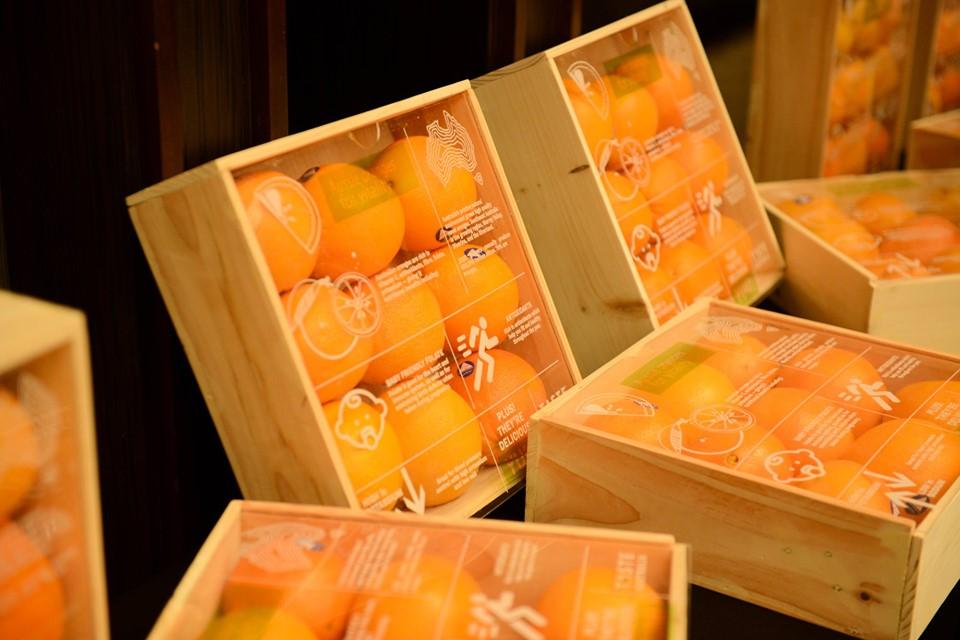 Taste Australia oranges