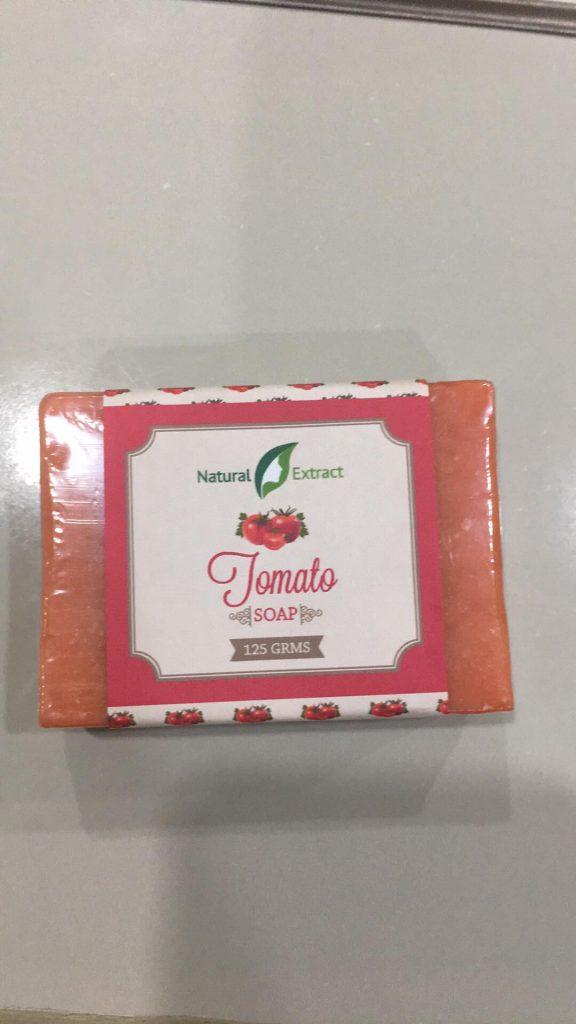 Nature Extract Tomato Soap
