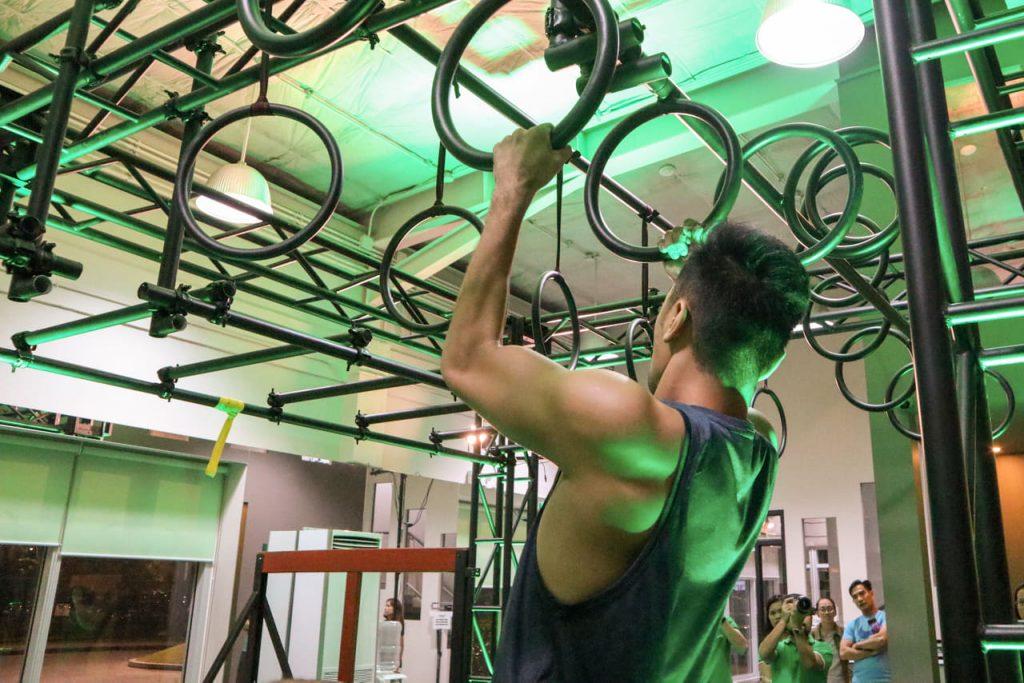 Obstacle Course Race Facility At Santé Fitness Lab