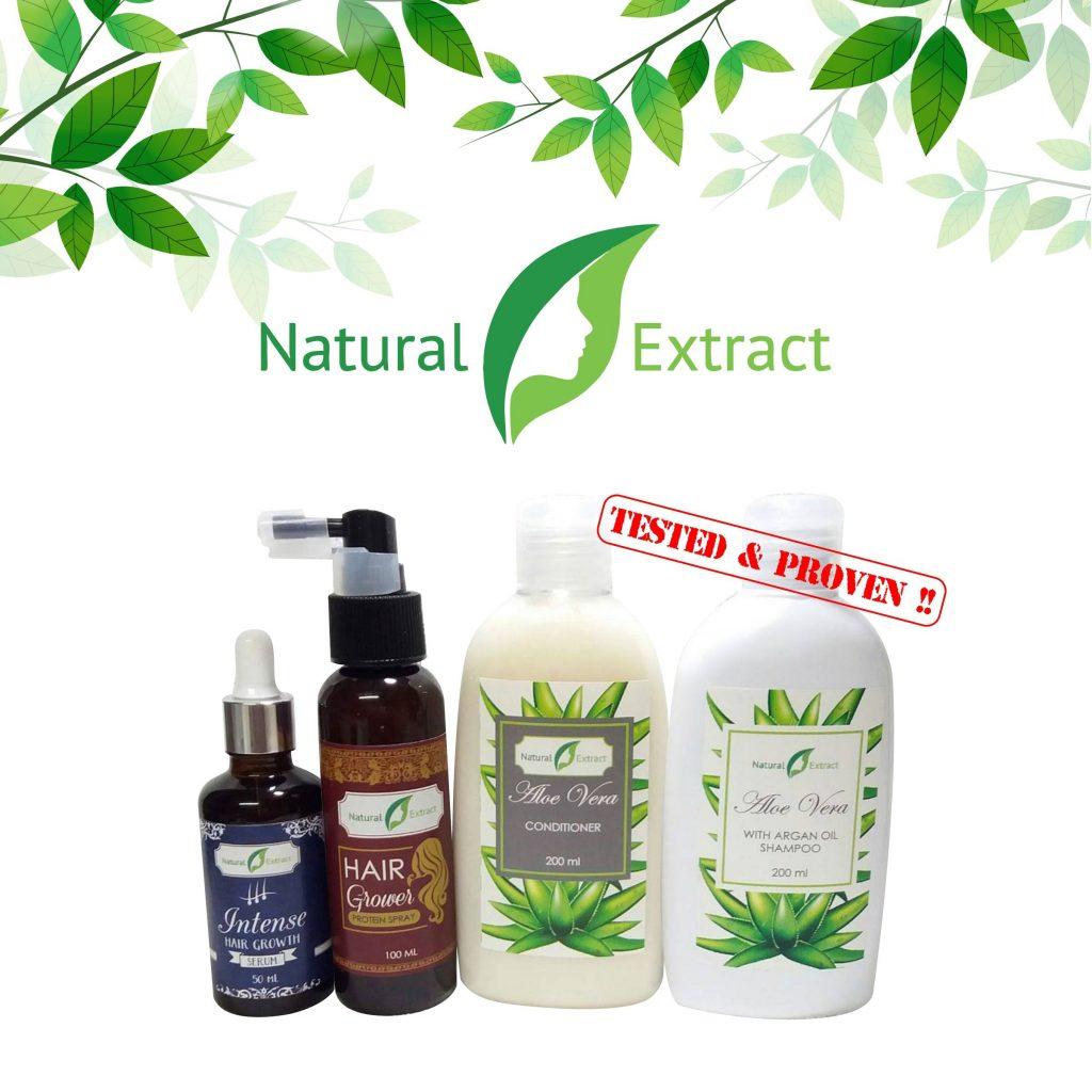 Natural Extract Intense Hair Growth Set