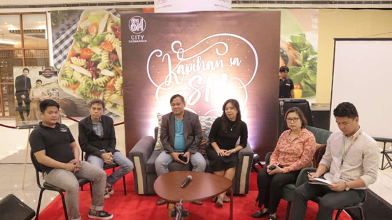 L-R: Jose Marie Chan of Classico Mobilio, Robert Alejandro - President of Papemelroti, Dr. Emmanuel Calario -President of Cavite Historical Society, Museo De La Salle Director Cecile Gelicame, Ms. Xandra Ramos-Padilla - Managing Director of National Bookstore, and Mike Ramil Bala - Store Marketing Officer of Expressions