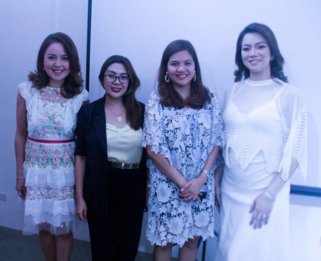 L-R Grace Custodio (Event Host), Rose Salamat Arias (Loopy Advertising), BIng Viray Ramillano (Loopy Advertising), Aiza Duico (Age Defying Solutions)