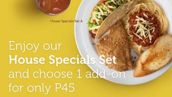 Pancake House P45 Promo
