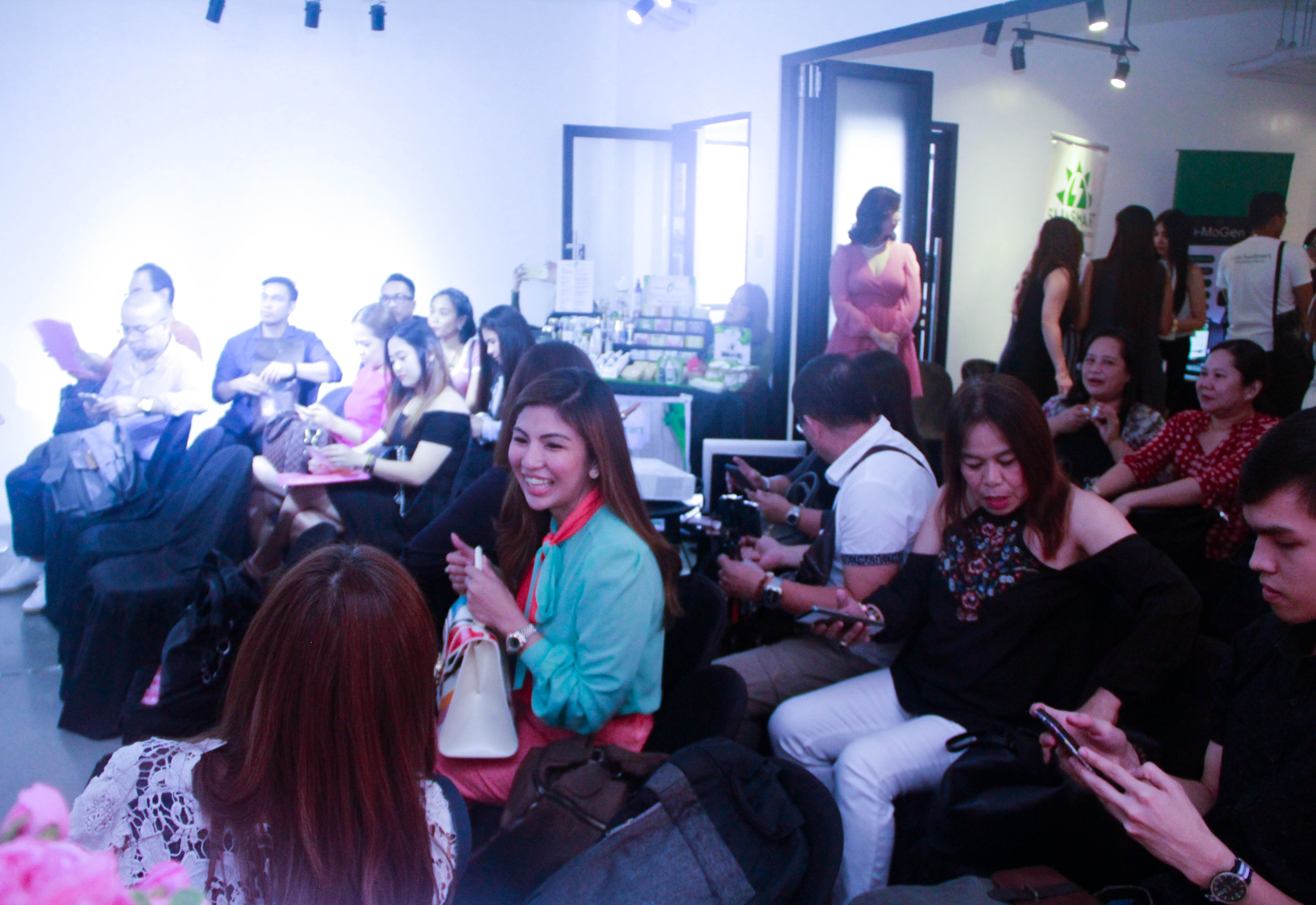 during the talk - Loopy Advertising Beauty & Wellness Expo