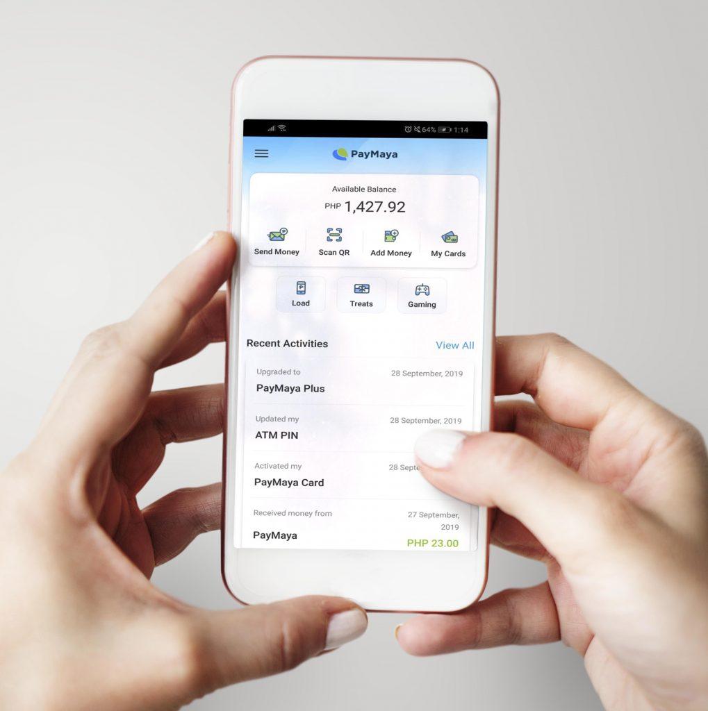 using paymaya app