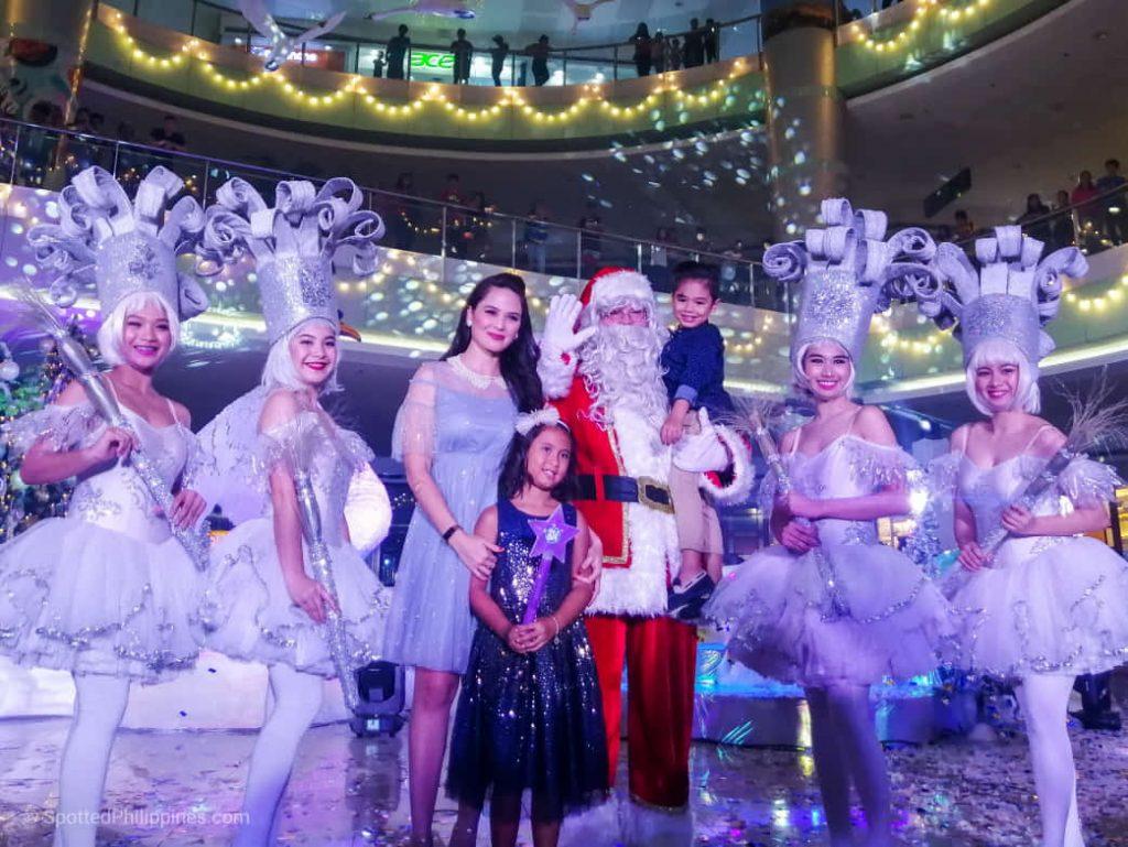 Winter Wonderlake launch at SM City Dasmarinas