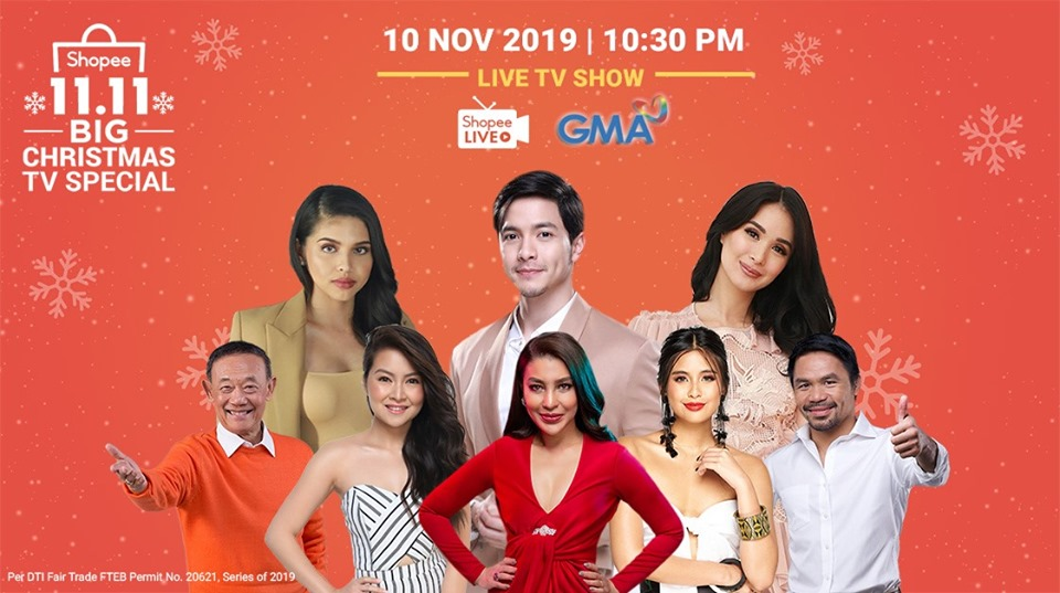 Shopee 11.11 Big Christmas TV Special