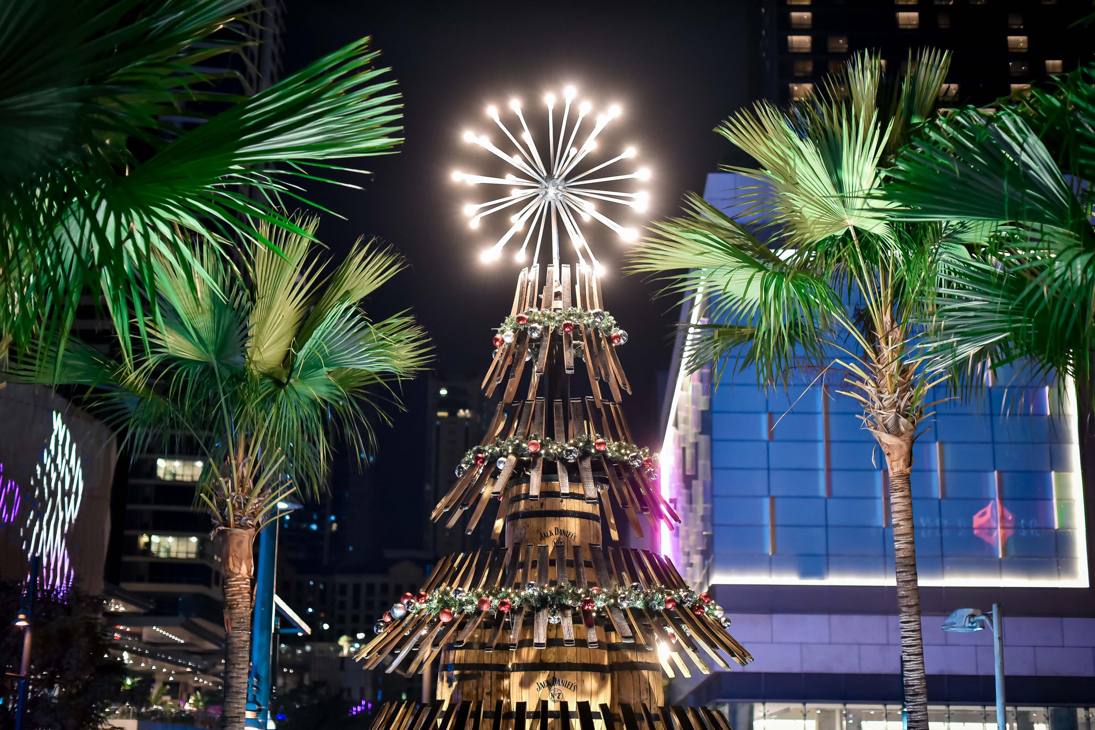 Jack Daniel's Holiday Barrel Tree (1)
