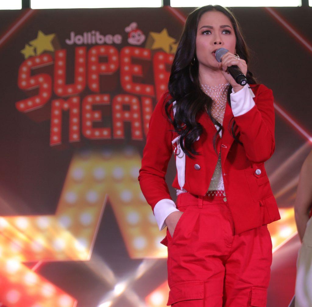 Maja Salvador for Jollibee Super Meals