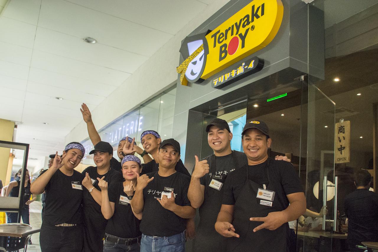 Teriyaki Boy Deaf Employees
