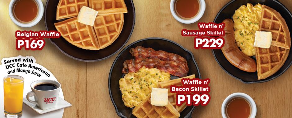 Shakey's Breakfast Waffles