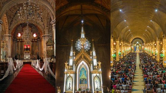 Simbang Gabi Manila Churches