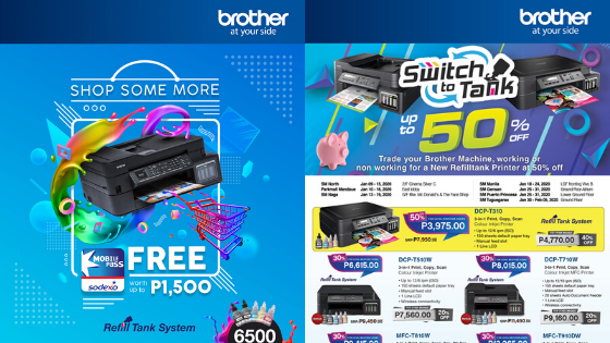 Enjoy These Great Deals From Brother Philippines