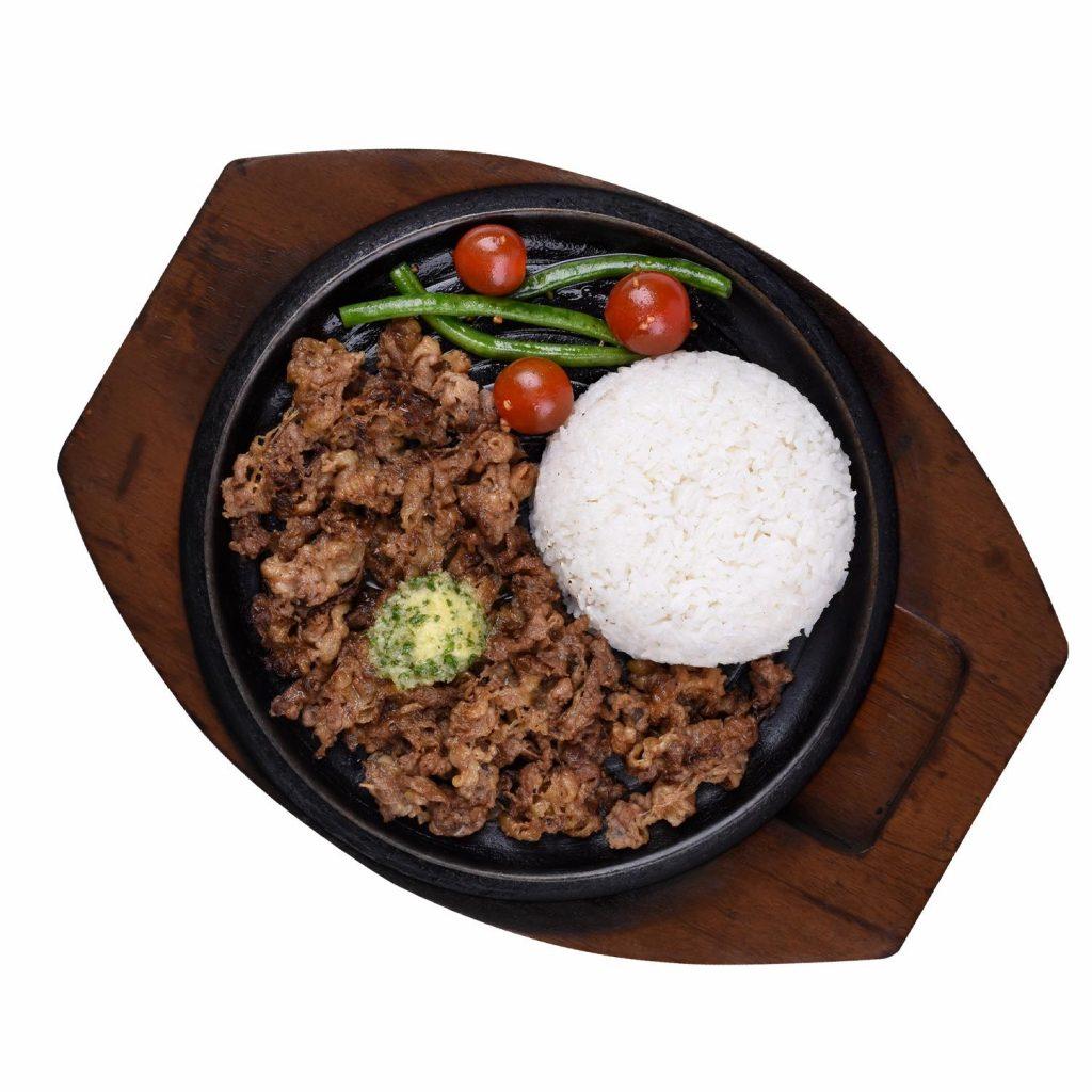 Sizzlin Steak Beef Belly Rice