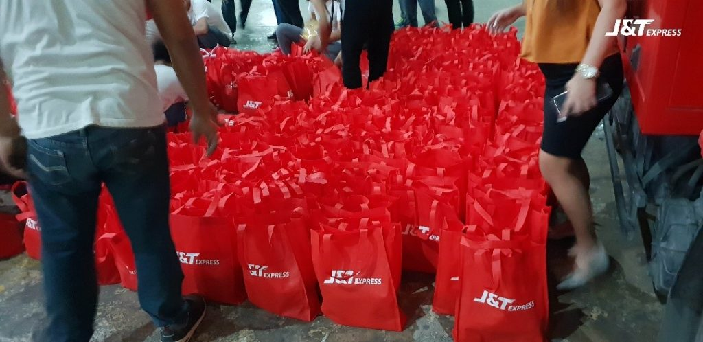 J&T Express Donates To Taal Victims