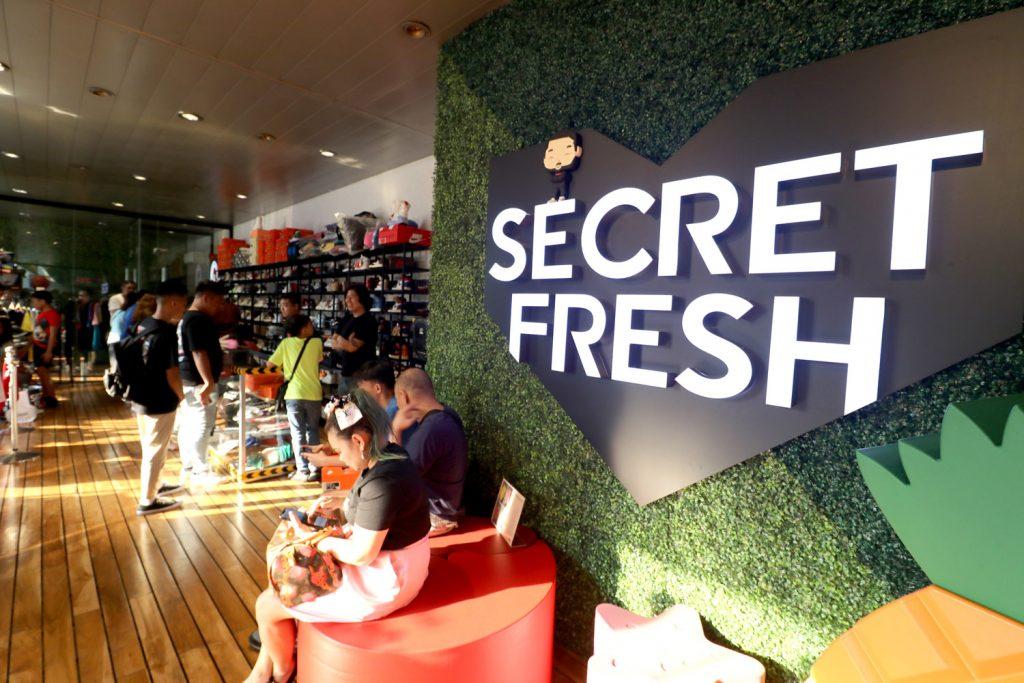 Secret Fresh store