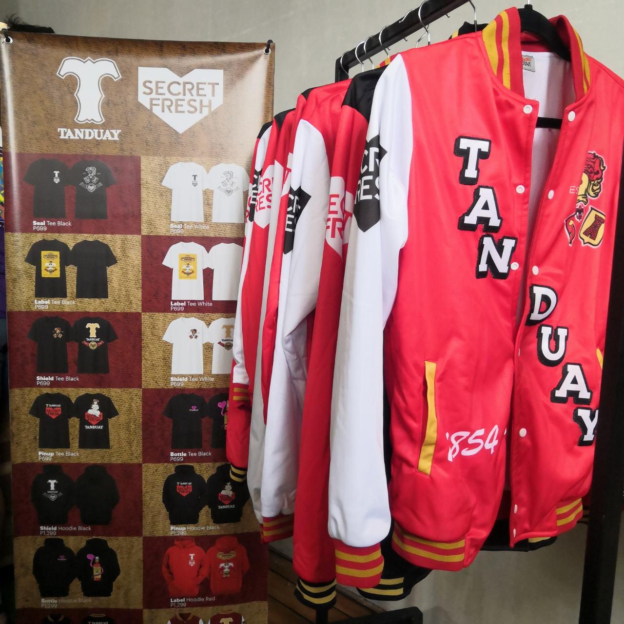 Tanduay x Secret Fresh collection