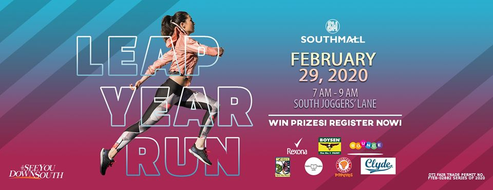 Win Exciting Prizes At SM Southmall's Leap Year Run 2020